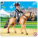 German Sport Horse with Dressage Rider and Stable - RETIRED PRODUCT