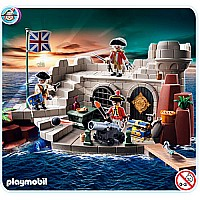 Playmobil Soldiers' Fort with Dungeon