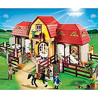 Playmobil Large Horse Farm with Paddock