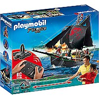 Pirates Ship With RC Underwater Motor