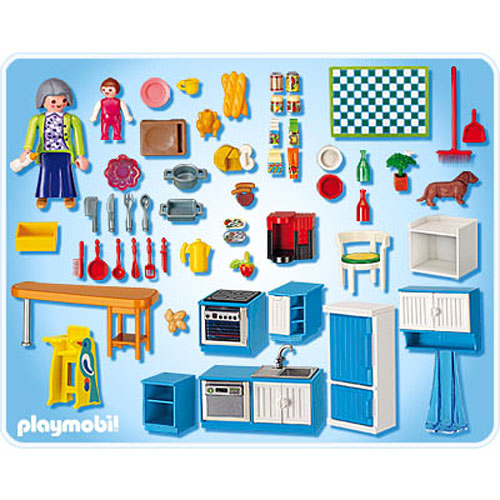 Grand kitchen stevensons toys for Cuisine playmobil