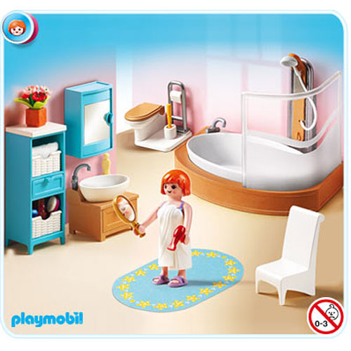 Bathroom toy sense for Wohnzimmer playmobil
