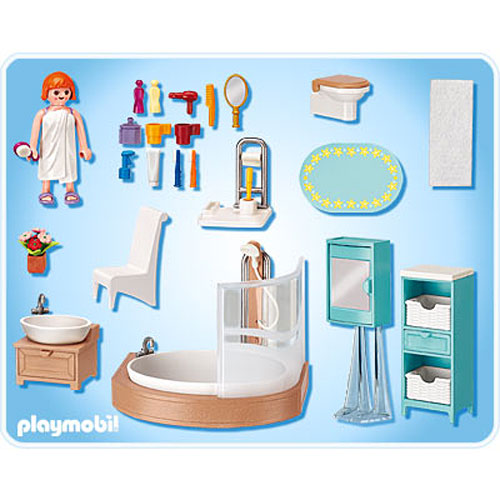 Bathroom toy sense for Salle bain playmobil