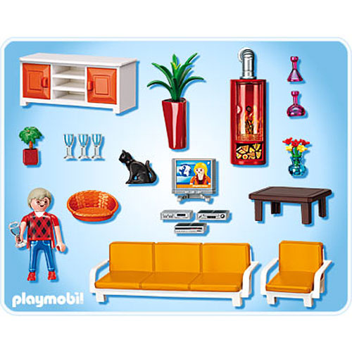 Comfortable Living Room Playmobil Dancing Bear Toys