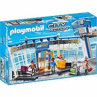Playmobil - Airport with Control Tower City Action