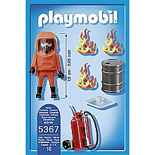 PLAYMOBIL Special Forces Firefighter Set