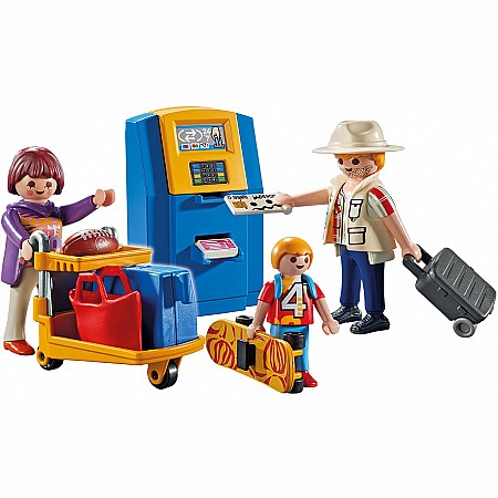 Playmobil - Family at Check-In City Action