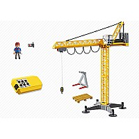 Great Building Crane With Ir-remote Control