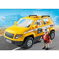Project Supervisor Car Playmobil