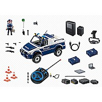 Rc-police Car With Camera Set