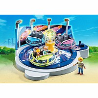 Playmobil - Spinning Spaceship Ride with Lights Summer Fun