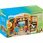 Pony Stable Play Box Playset