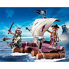 PLAYMOBIL Pirate Raft Playset