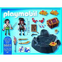 Pirate Treasure Hideout Playset