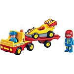 6761 - Racing Car with Trailer