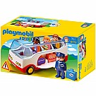 Playmobil 6773 1.2.3 Airport Shuttle Bus