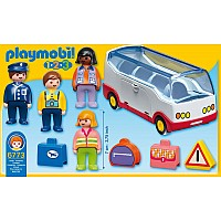 1.2.3 Airport Shuttle Bus Playmobil