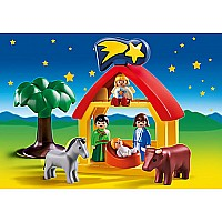Playmobil 1.2.3 Christmas Manger