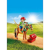 PLAYMOBIL Groomer with Bloom Pony Playset