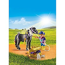 PLAYMOBIL Groomer with Star Pony Playset