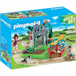 Playmobil SuperSet Family Garden 70010