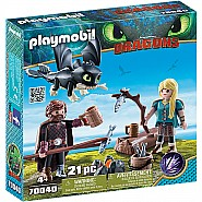 Hiccup and Astrid Playset