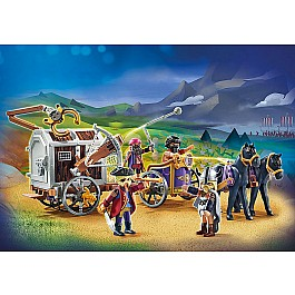 PLAYMOBIL:THE MOVIE Charlie with Prison Wagon