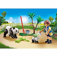 Playmobil Panda Caretaker Carry Case