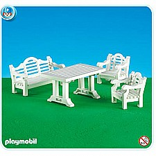 Playmobil 7929 Patio Set