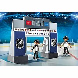 NHL Score Clock with 2 Referee