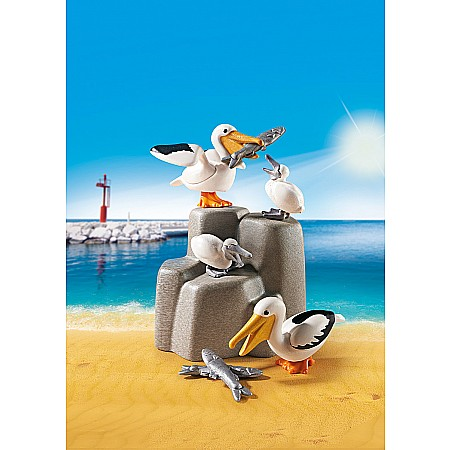 Playmobil - Pelican Family