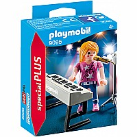Playmobil - Singer with Keyboard
