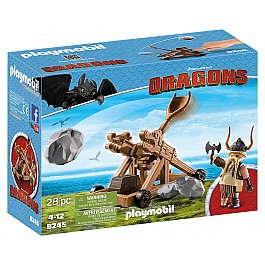 Playmobil - Gobbler with Catapult Dragons