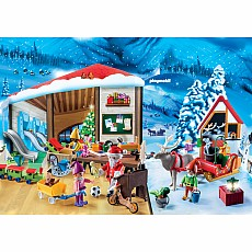 Playmobil - Advent Calendar - Santa Workshop