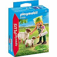 PLAYMOBIL Farmer with Sheep