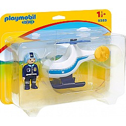 Playmobil 123 Police Copter