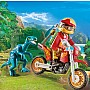 Playmobil - Motorcross Bike w - Raptor
