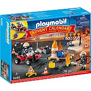 PLAYMOBIL Advent Calendar: FIRE RESCUE