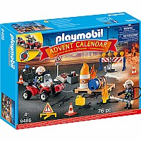 Advent Calendar - Construction Site Fire Rescue