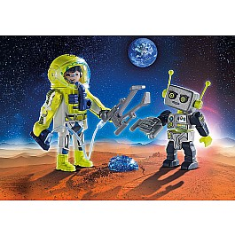 Astronaut and Robot Duo Pack