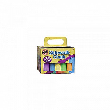 20pc. Jumbo Sidewalk Chalk