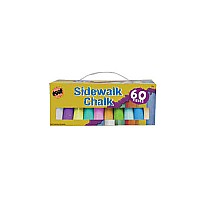 60pc. Jumbo Sidewalk Chalk