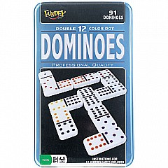 Double 12 Dominoes In TIN