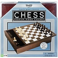 Premium Wood Box: Chess
