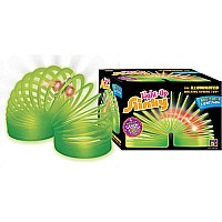 Light Up Slinky Green