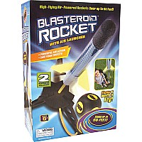 Blasteroid Rocket With Launcher