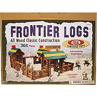 300 Piece Frontier Logs with 20 PC Action Figures