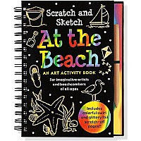 Scratch & Sketch At the Beach (An Art Activity Book for Beach Lovers of all Ages)
