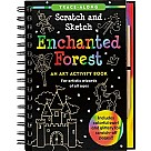 Scratch & Sketch Enchanted Forest (Trace-Along)