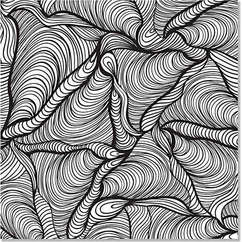 Doodle Designs Adult Coloring Book (31 Stress-relieving Designs) (Studio) -  Boing! Toy Shop